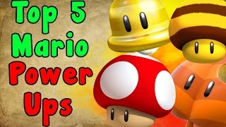 Top 5 Mario POWER UPS (Super Mario Series)