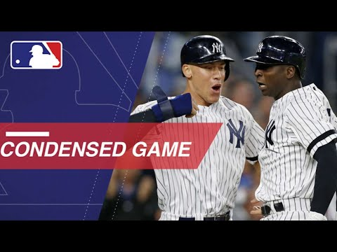 Condensed Game: AL WC 10/3/17