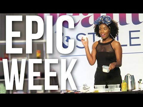 EPIC Week at ESSENCEFEST! June 29-July 3 | Naptural85 Vlog