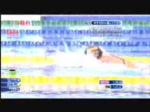 International Swim Meet 2007 in Japan: Women