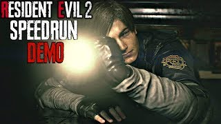 Resident Evil 2 Remake - 1-Shot Demo SPEEDRUN 3:18
