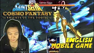 Sudah ENGLISH, Grafik Kimochi !!! Saint Seiya Cosmo Fantasy (ENG) Gameplay  - Android/iOS Game
