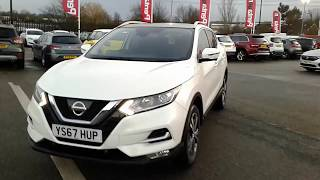 YS67HUP Nissan Qashqai 1.5 Dci N-connecta Inc Glass Roof Pack