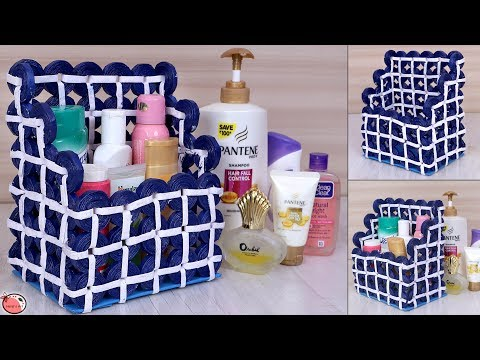 Household Items Organization | Best Out of Waste | DIY - Multi Purpose Room Organizer Making at Home