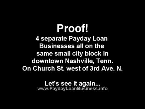 Payday Loan Business Competition