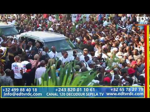 UDPS CONGRES EXTRAORDINAIRE: LA FOULE QUI ACCUEILLE SON NOUVEAU PRÉSIDENT