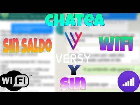 VERSY LA MEJOR APP PARA CHATEAR SIN SALDO NI CONEXION WIFI | Gamingcerch | Androidiccion