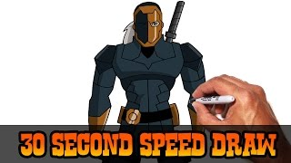 Deathstroke (Young Justice)- Speed Draw Preview