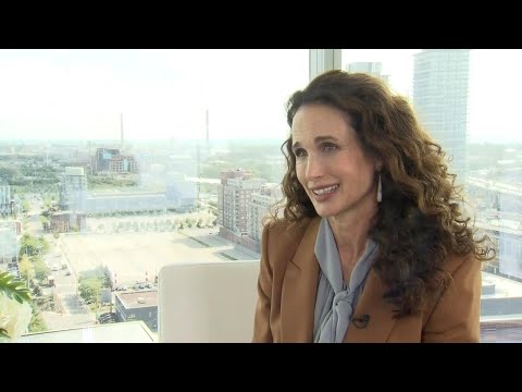Tips for ageing gracefully from Andie MacDowell