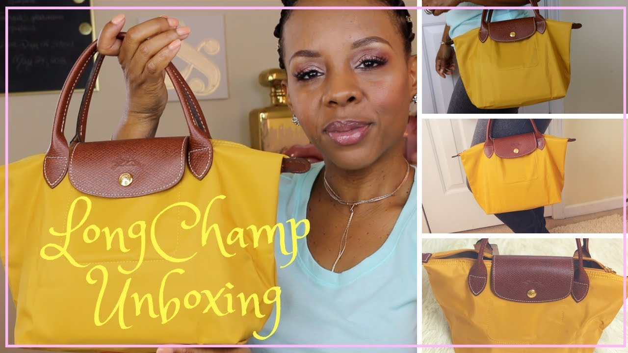 6cdc5fba67f3 LONGCHAMP MINI TOTE - YouTube