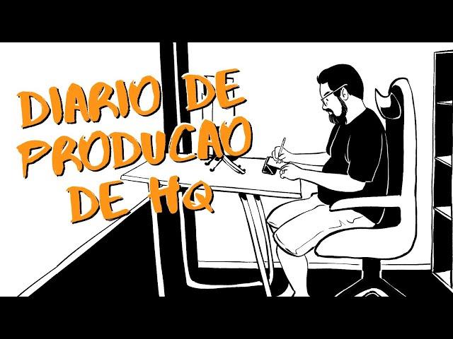 Diário da HQ feita pro DESAFIO FLIPTRU 2