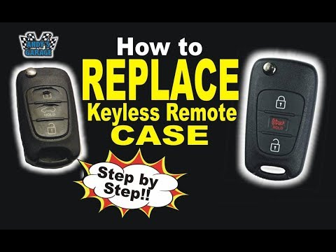 How To Replace/Repair Keyless Remote Case (Andy's Garage: Episode – 26)