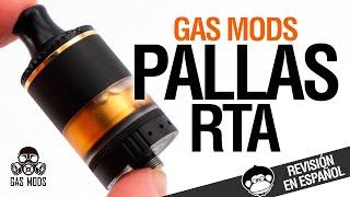 Gas Mods PALLAS RTA ¿MTL? ¿O RDL? / revisión