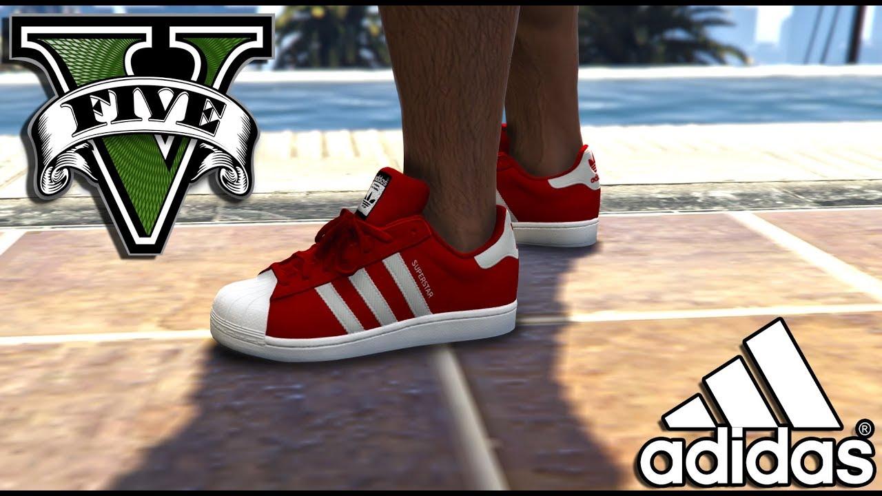 Gta 4 4 Mod Chaussures Adidas Gta 6IbmyvYfg7