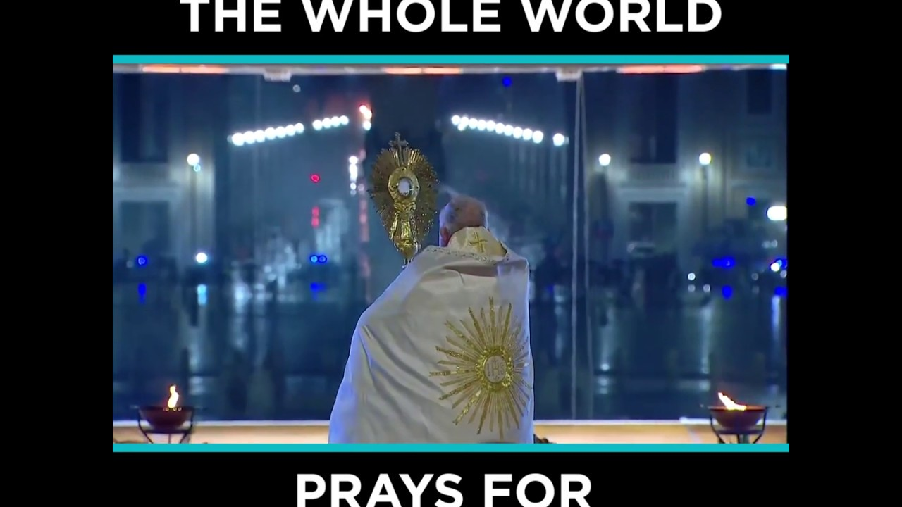 CORONAVIRUS: Pope Francis Blesses Whole World