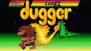 Dugger - [Atari ST] Short gameplay (1988)