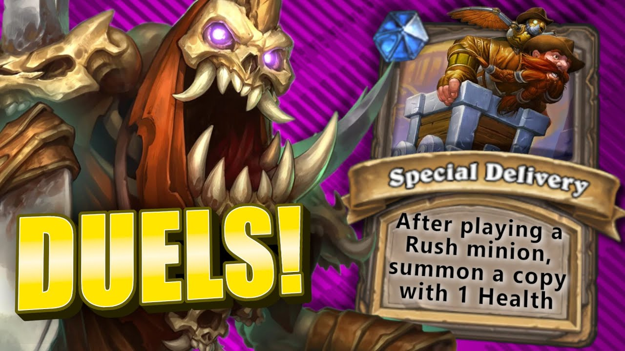 Rushing Into Duels! | Warrior | Duels | Forged in the Barrens | Hearthstone