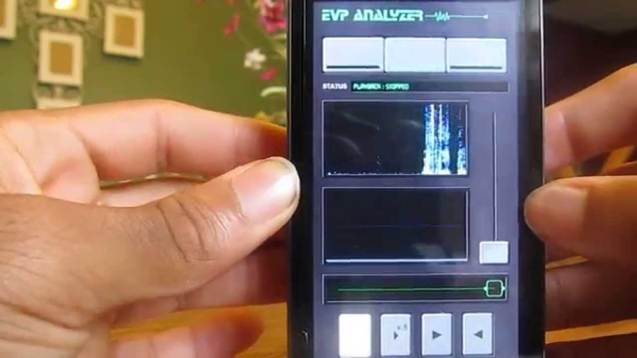 Android App: Ghost EVP Analyzer