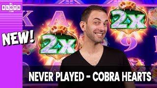 🐍 NEW 4 Me: Cobra Hearts 💰 $1500 @ San Manuel Casino ✪ BCSlots (S. 18 • Ep. 5) #AD
