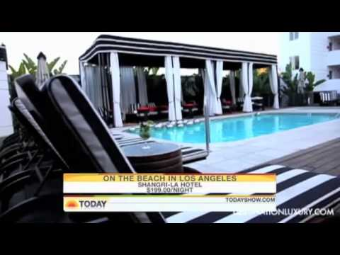 Destination Luxury Featured on the Today Show // Shangri La Hotel, Santa Monica