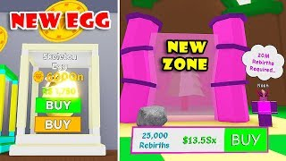 NEW 20M ZONE UPDATE! 2 NEW CODES + SKELETON EGG + MAGNETS In MAGNET SIMULATOR! [Roblox]