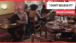 Richard Wilson in 'Brexit Special' Comedy Sketch for Second Referendum Support | SWNS TV