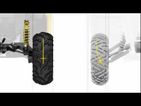 Torsional Trailing arm Independent (TTI) rear suspension ...