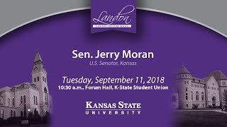 Landon Lecture | Sen. Jerry Moran
