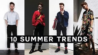 TOP 10 SUMMER TRENDS - Fashion Essentials + Staples! (2017) Imdrewscott