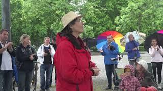 Demonstration Konstanz Stadtgarten vom 23.05.2020