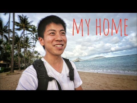 KAHALA BEACH (MY HOME) - Hawaii Vlog Ep 93