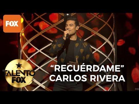"Carlos Rivera ""Recuérdame"" | Talento FOX"