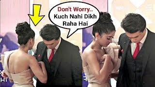 Mohsin Khan Saves Shivangi Joshi From Embarrassing Moment At IWM Buzz TV Awards 2019