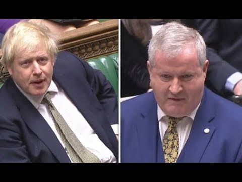 Boris Johnson shuts down Ian Blackford in his attempt to call for a 2nd Scottish referendum