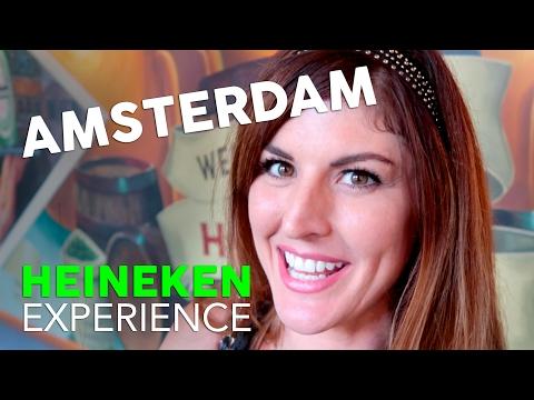 HEINEKEN EXPERIENCE  // AN AMSTERDAM VLOG