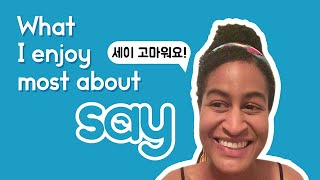 Student Spotlight: 60 seconds in ONLY KOREAN with Lisa from New York