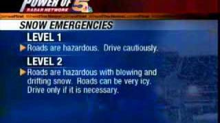 What are Snow Emergencies?