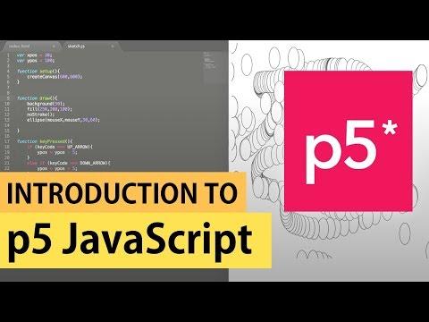 Introduction to p5.js | JavaScript Tutorial thumbnail