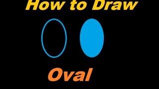 Comment Tracer une ellipse dans l'Applet (comment dessiner remplir ovale dans l'applet)