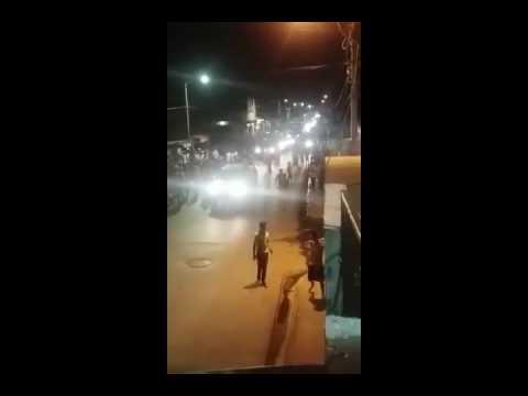 Así fue como cacerolearon a Nicolás Maduro en Margarita