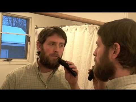 beard grooming 101 how to trim your moustache youtube. Black Bedroom Furniture Sets. Home Design Ideas