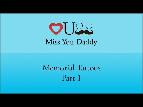 Miss You Daddy Memorial Tattoos