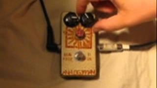 Analogman Sunface TI/UK Germanium Transistor Fuzz Pedal demo