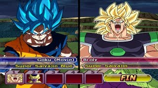 Goku SSJ Blue (Movie) VS Broly SSJ & Golden Freezer - DBZ BT3 Version Latino [Mods] [Download]