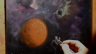 Sci Fi Space   Painting Lesson