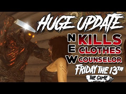 Huge Patch!! | 5 New Kills! | Tommy Tapes! | Fox Now Available! | Friday the 13th: The Game