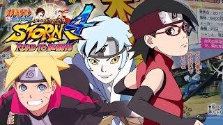 MITSUKI CONFIRMED! New Boruto & Sarada - Naruto Shippuden Ultimate Ninja Storm 4 Road to Boruto Scan