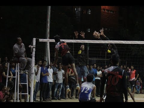 India's Finest VolleyBall Match From Law School: NLUJ v JGLS on 24/09/2017