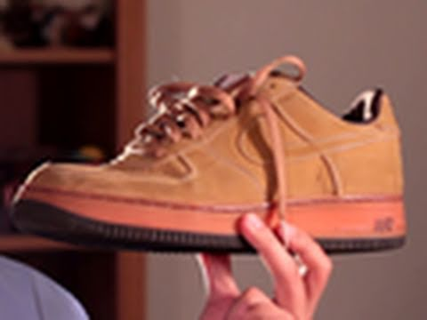 elegante presidente Perezoso  Restoration 4-1: The Nike Air Force 1 co.jp Suede Restoration Project -  YouTube
