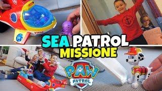 PAW PATROL: ANDIAMO IN MISSIONE con il SEA e il SUB PATROLLER